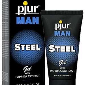 Pjur Man Steel Gel - Man sex Enhancer - Sex Booster - Power Booster